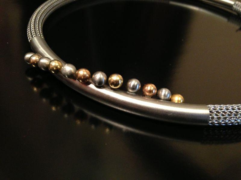 Girocollo in argento e perle Charizzma